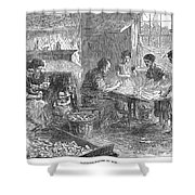 Home Industry, 1871 Shower Curtain