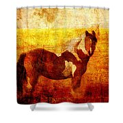 Home Series - Strength And Grace Shower Curtain