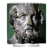 Homer (9th-8th Century B.c.) Shower Curtain by Granger