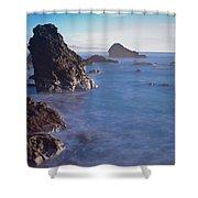 Honda Cove Waters Shower Curtain