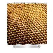 Honey Bee Eye Shower Curtain
