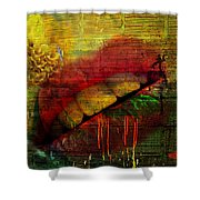 Honey Drip Shower Curtain