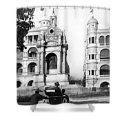 Hong Kong - Monument To Queen Victoria - C 1906 Shower Curtain