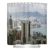 Hong Kong Harbor Shower Curtain