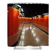 Hong Kong Subway Shower Curtain