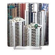 Hong Kong View Shower Curtain
