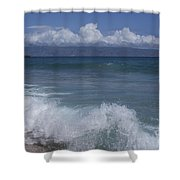 Honokohau Aloalo Aheahe D T Fleming Beach Maui Hawaii Shower Curtain