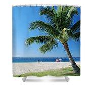 Honolulu Sun 0757 Shower Curtain