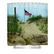 Honor Shower Curtain