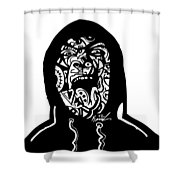 Hooded Up Shower Curtain