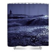Hook Head, County Wexford, Ireland Shower Curtain