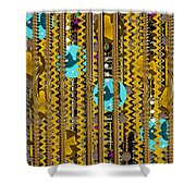 Hope The Coins Will Grow This Year Shower Curtain by Pepita Selles