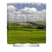 Hope Valley From Winnats Head Shower Curtain