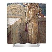Hopeful Shower Curtain by Sumit Mehndiratta