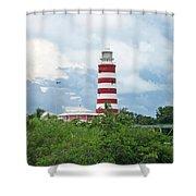 Hopetown Lighthouse Shower Curtain