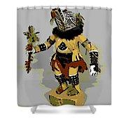 Hopi Dancer Shower Curtain