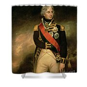 Horatio Viscount Nelson Shower Curtain