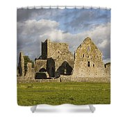Hore Abbey, Cashel, County Tipperary Shower Curtain