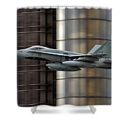 Hornet Buzzing Detroit Shower Curtain