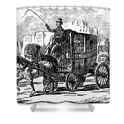 Horse Carriage, 1853 Shower Curtain