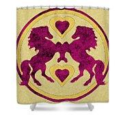 Horses Love Dance Shower Curtain