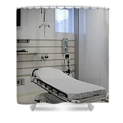 Hospital Gurney Shower Curtain
