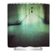 Hospital Hallway Shower Curtain