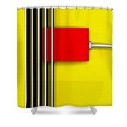 Hot Box Shower Curtain