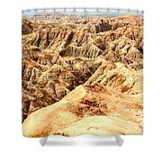 Badlands Of South Dakota Shower Curtain