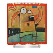 Hot Fun In The Summertime Poster Shower Curtain