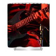 Hot Licks Shower Curtain by Bob Christopher