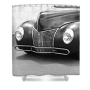 Hot Rod Front End Shower Curtain