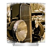 Hot Rod Grille Shower Curtain
