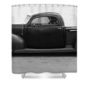 Hot Rod Pickup Shower Curtain