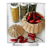 Hot Spice Shower Curtain