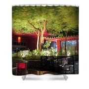 Hot Summer Nights Shower Curtain