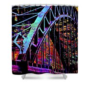 Hot Town Summer In The City Shower Curtain