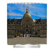 Hotel Des Invalides Shower Curtain