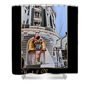 Hotel Negresco France Shower Curtain