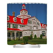 Hotel Tadoussac ... Shower Curtain