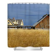 House And Barn Shower Curtain