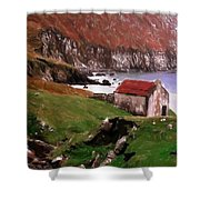 House At The Coast Shower Curtain