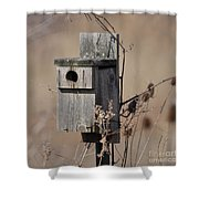 House For Rent Shower Curtain
