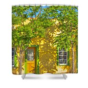 House In The Barrio Shower Curtain