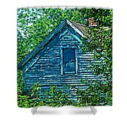 House In The Woods Art Shower Curtain