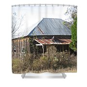 House Indian Gap Tx Shower Curtain