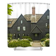 House Of 7 Gables Shower Curtain