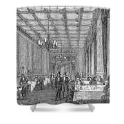House Of Commons, 1854 Shower Curtain