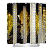 House Of Mirrors Shower Curtain