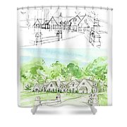 Housework Shower Curtain